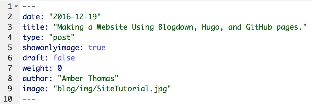 Making a Website Using Blogdown, Hugo, and GitHub Pages